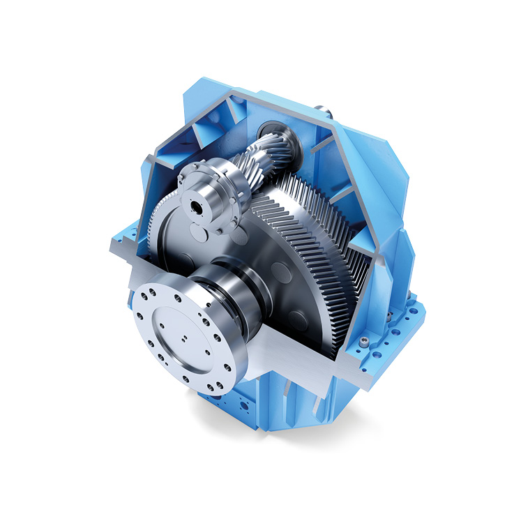Stirnradgetriebe Pit-Turbine