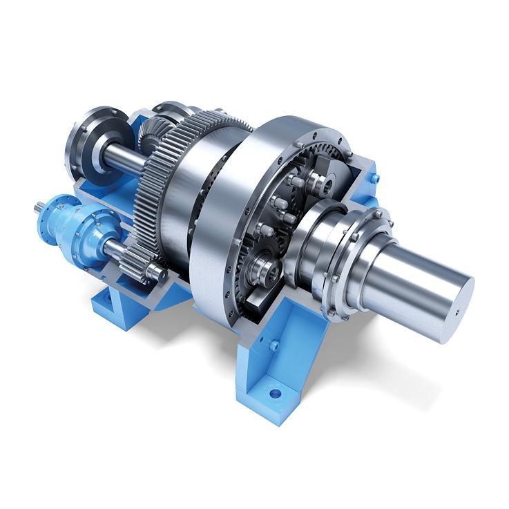 Streckrichter Getriebe