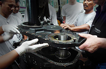 Getriebe Reparatur