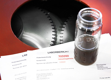 Getriebe Reparatur Ölanalyse