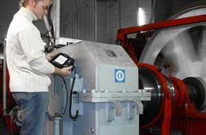 Schwingungsmessung Getriebe Reparatur