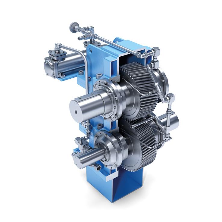 Gasmotor Stromgenerator